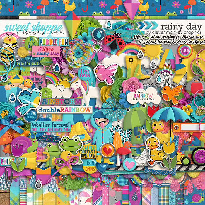 Rainy Day by Clever Monkey Graphics