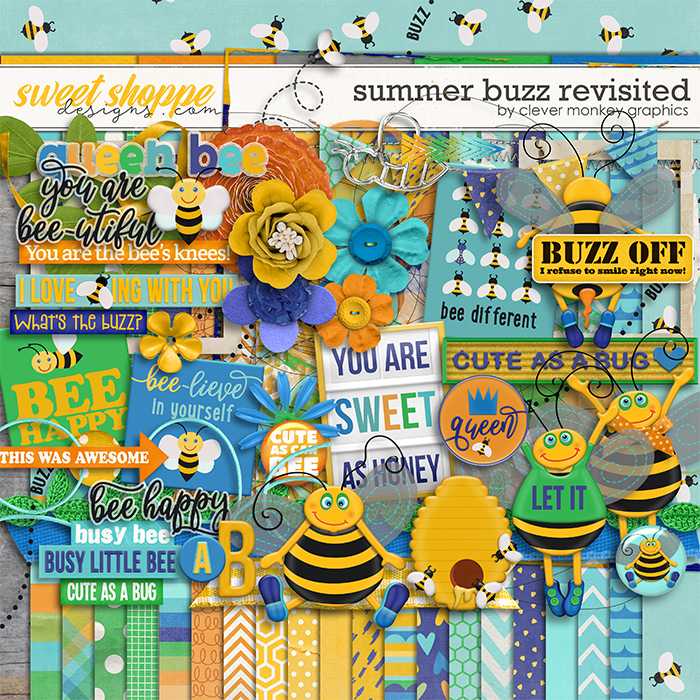 Summer Buzz Revisited by Clever Monkey Graphics
