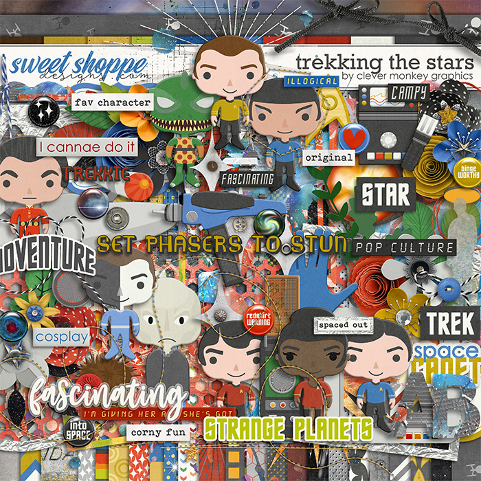 Trekking the Stars by Clever Monkey Graphics