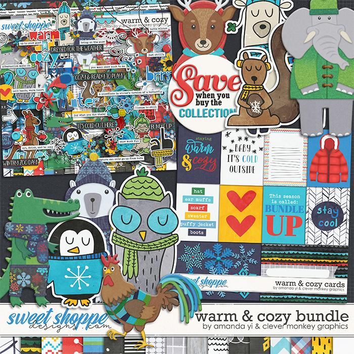 Warm & Cozy: Bundle by Amanda Yi & Clever Monkey Graphics