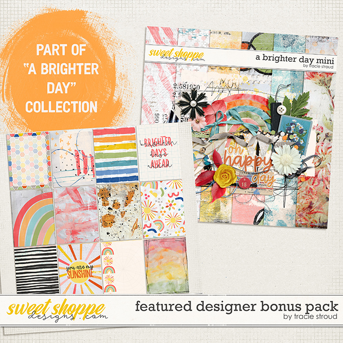 A Brighter Day Bonus Pack by Tracie Stroud