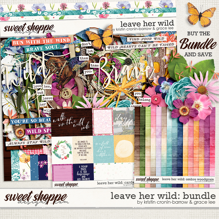 Leave Her Wild: Bundle by Grace Lee and Kristin Cronin-Barrow