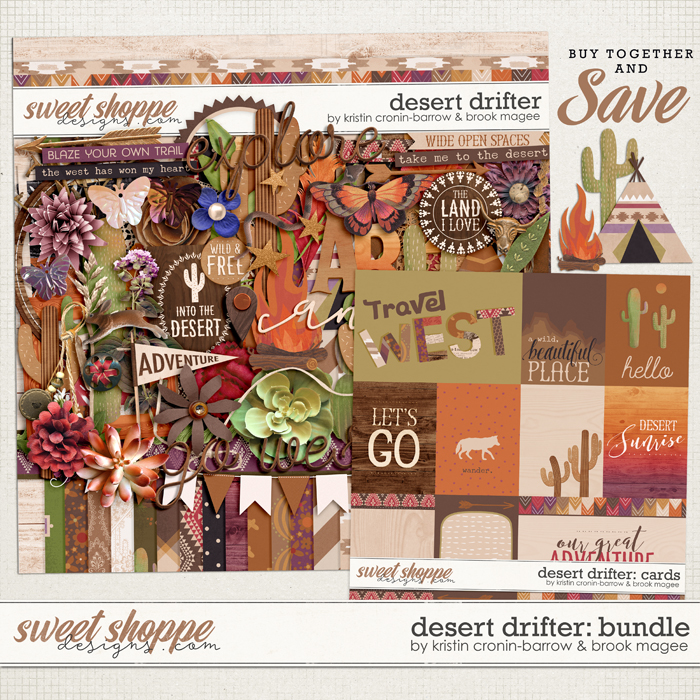 Desert Drifter: Bundle by Kristin Cronin-Barrow and Brook Magee