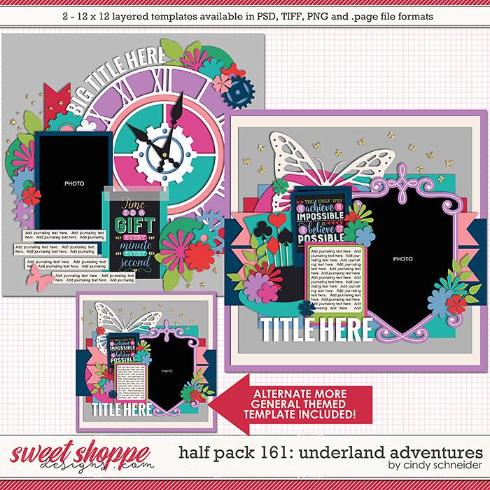 Cindy's Layered Templates - Half Pack 161: Underland Adventures by Cindy Schneider
