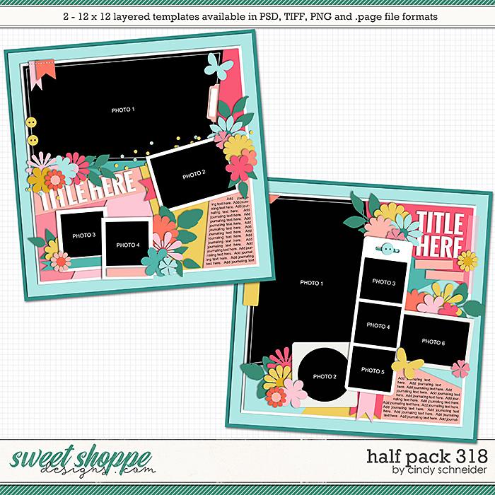 Cindy's Layered Templates - Half Pack 318 by Cindy Schneider
