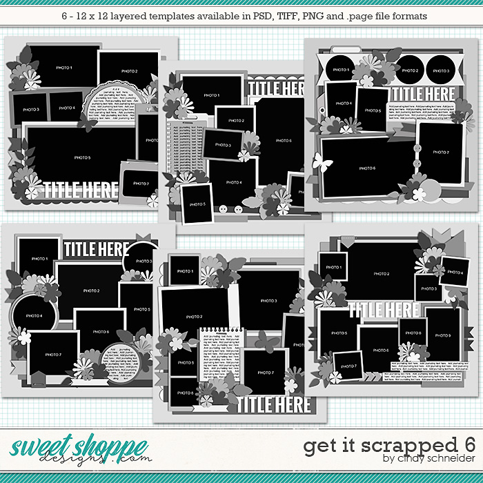 Cindy's Layered Templates - Get It Scrapped 6 by Cindy Schneider