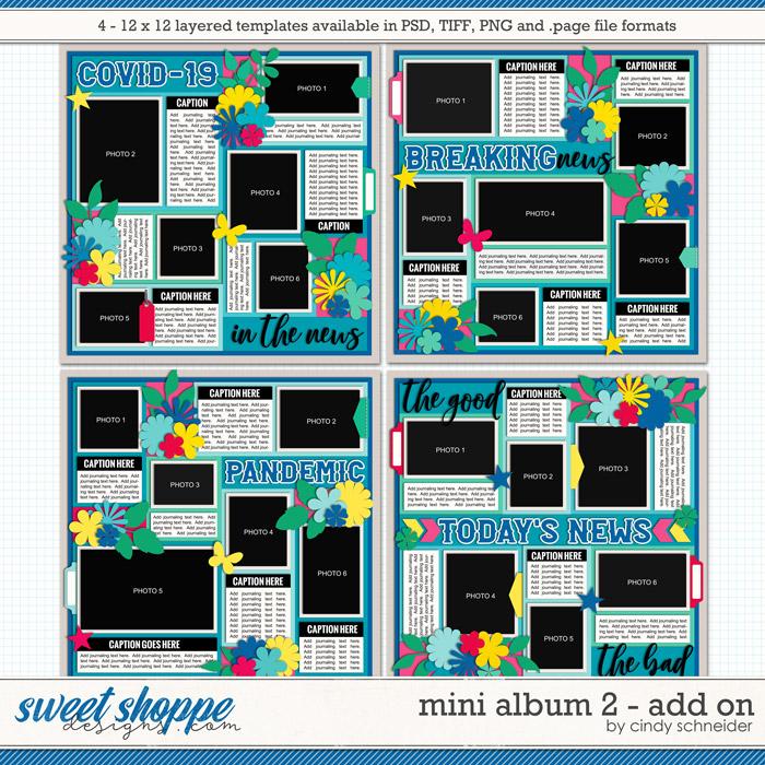 Cindy's Layered Templates - Mini Album 2: Add On by Cindy Schneider