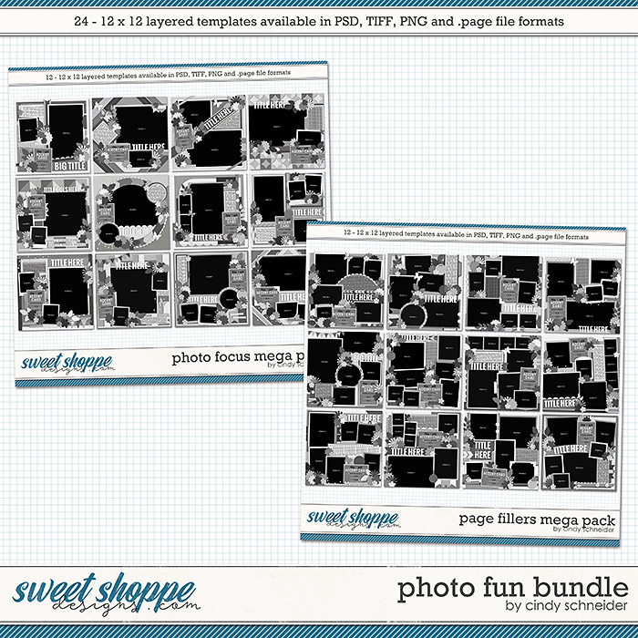 Cindy's Layered Templates - Photo Fun Bundle by Cindy Schneider