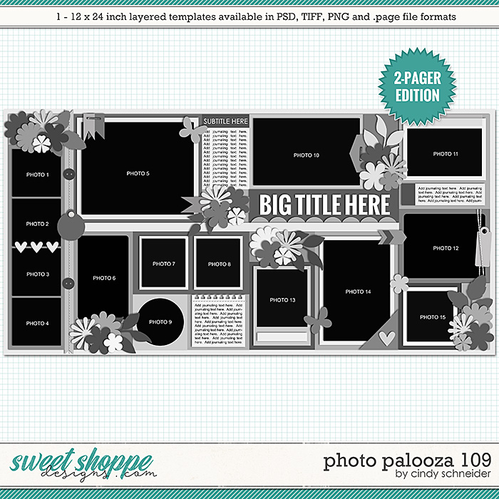 Cindy's Layered Templates - Photo Palooza 109 by Cindy Schneider