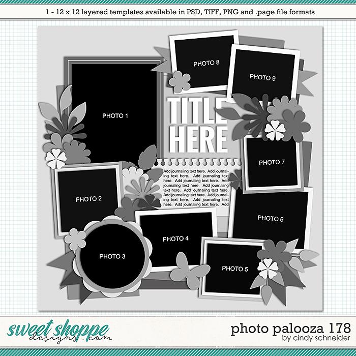 Cindy's Layered Templates - Photo Palooza 178 by Cindy Schneider