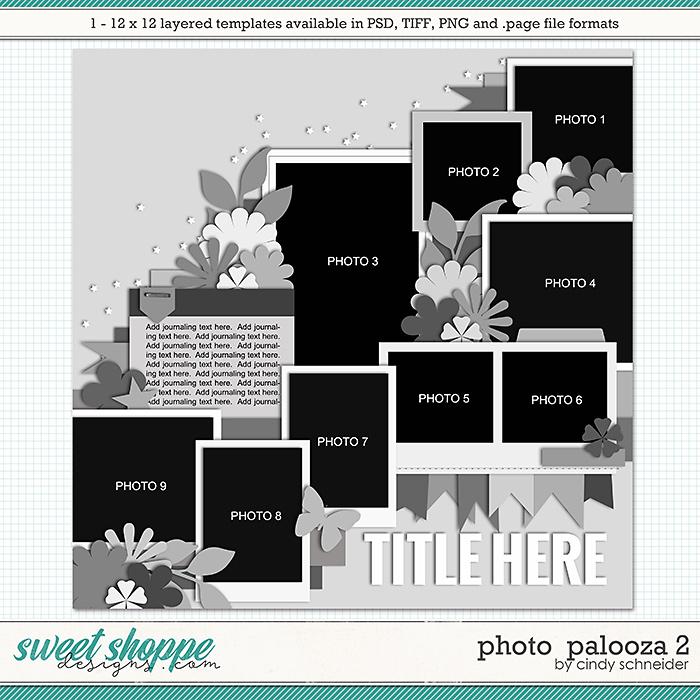 Cindy's Layered Templates - Photo Palooza 2 by Cindy Schneider