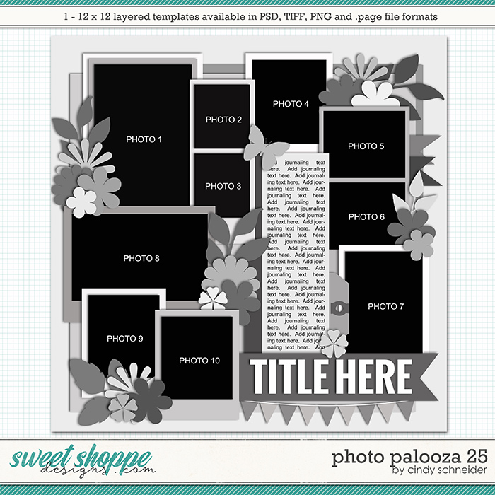 Cindy's Layered Templates - Photo Palooza 25 by Cindy Schneider