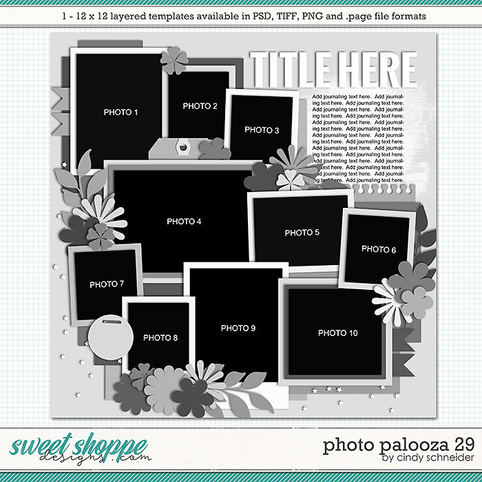 Cindy's Layered Templates - Photo Palooza 29 by Cindy Schneider