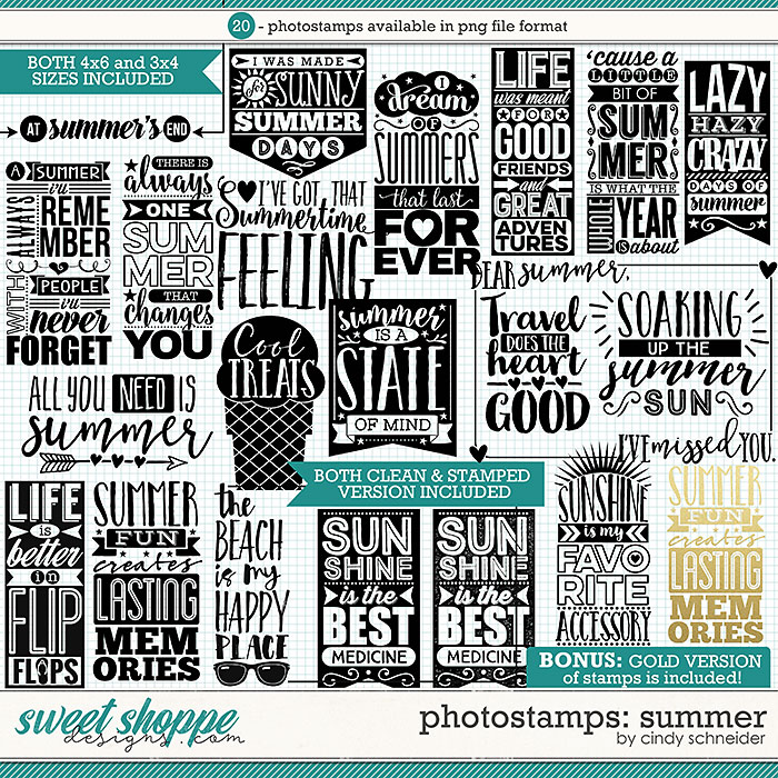Cindy's Photostamps: Summer by Cindy Schneider