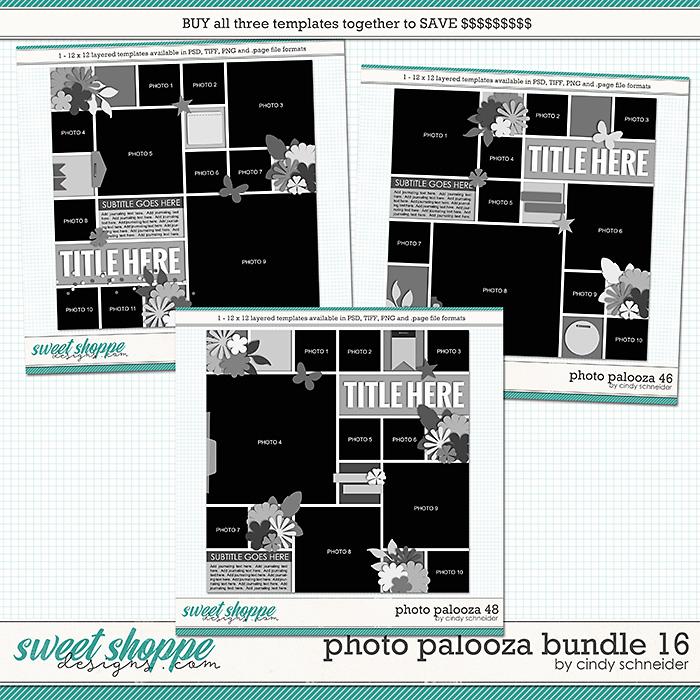 Cindy's Layered Templates - Photo Palooza Bundle 16 by Cindy Schneider