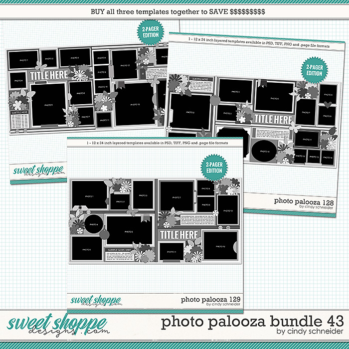 Cindy's Layered Templates - Photo Palooza Bundle 43 by Cindy Schneider
