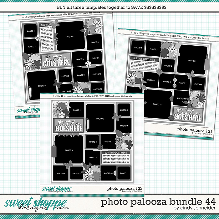 Cindy's Layered Templates - Photo Palooza Bundle 44 by Cindy Schneider