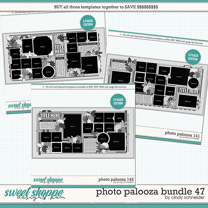 Cindy's Layered Templates - Photo Palooza Bundle 47 by Cindy Schneider