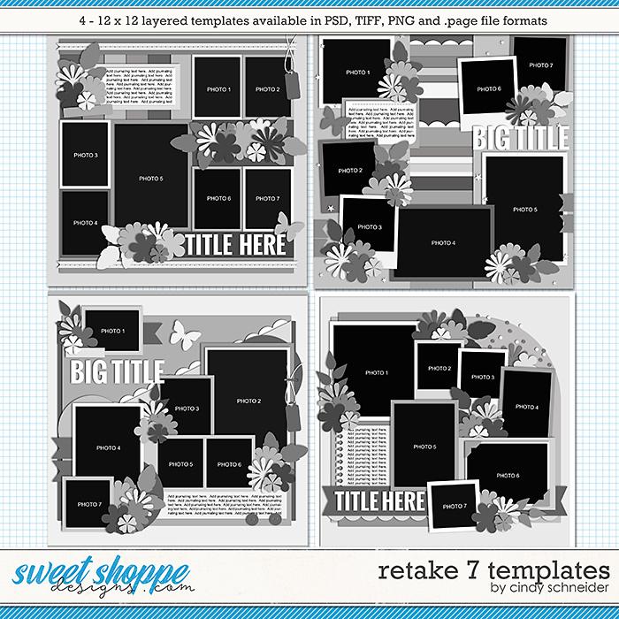 Cindy's Layered Templates - Retake Seven by Cindy Schneider