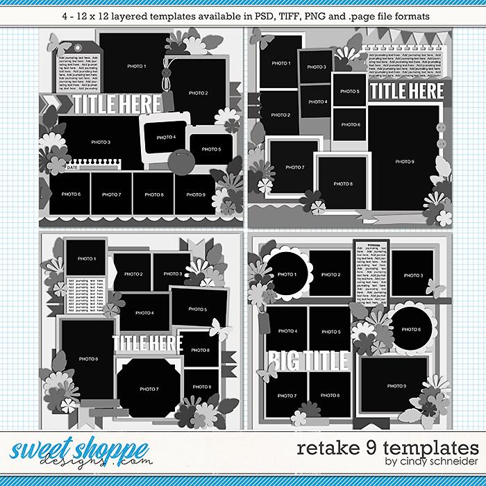 Cindy's Layered Templates - Retake Nine by Cindy Schneider