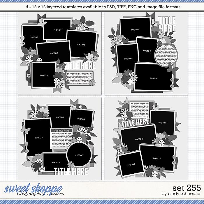 Cindy's Layered Templates: Set 255 by Cindy Schneider