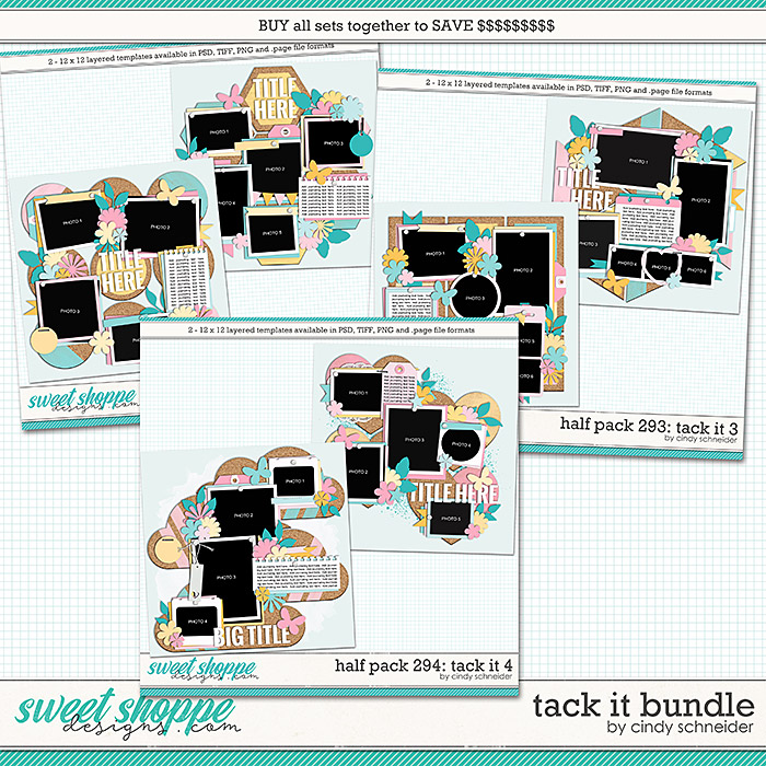 Cindy's Layered Templates - Tack It Bundle by Cindy Schneider