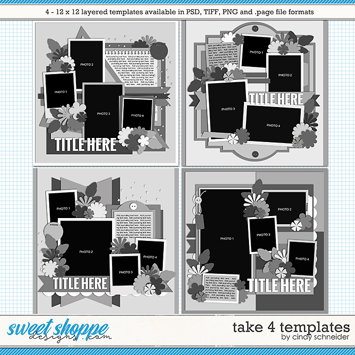 Cindy's Layered Templates - Take Four by Cindy Schneider