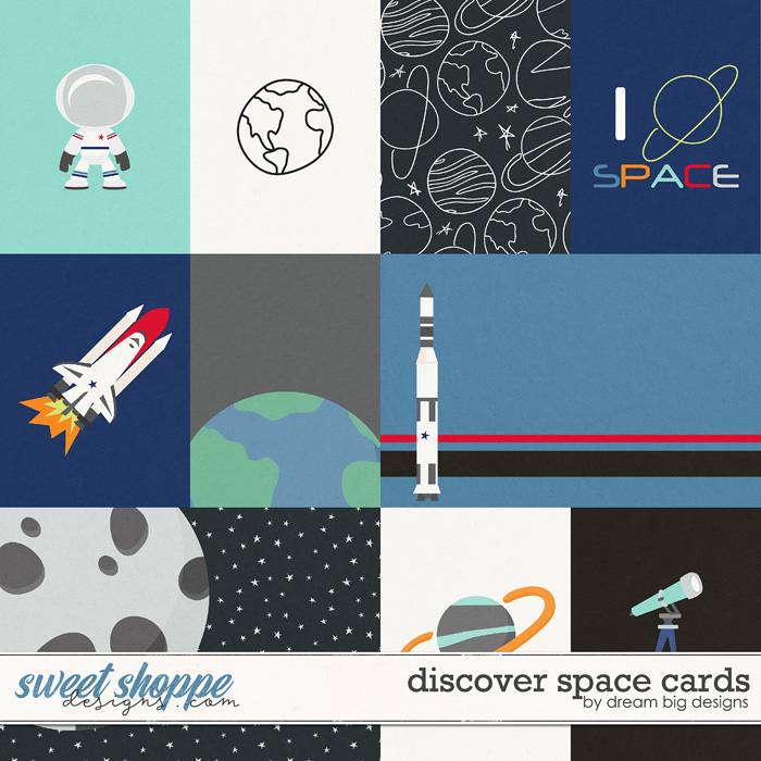 Discover Space Cards by Dream Big Designs
