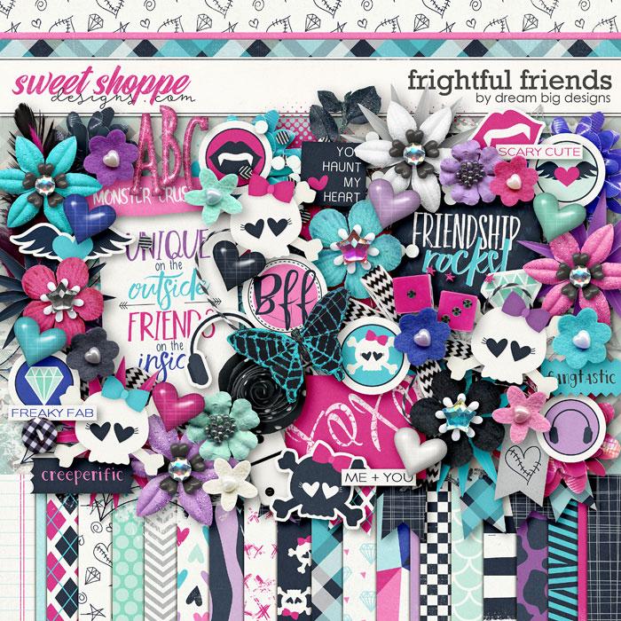 Frightful Friends by Dream Big Designs