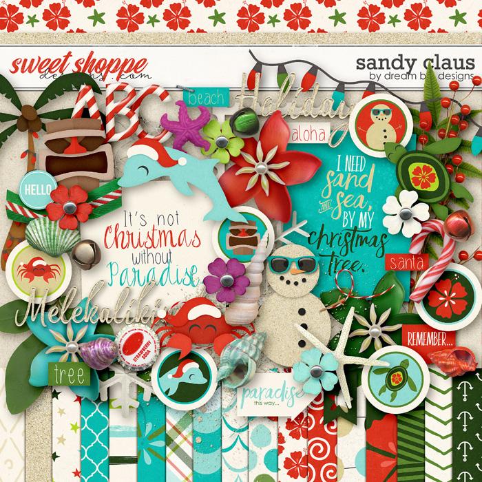 Sandy Claus by Dream Big Designs