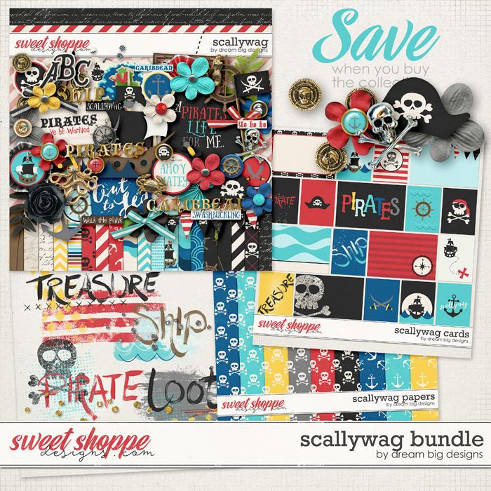 Scallywag Bundle by Dream Big Designs