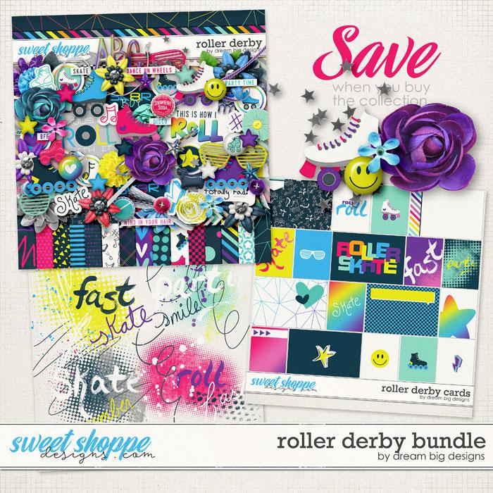 Roller Derby Bundle by Dream Big Designs