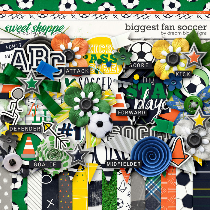 Biggest Fan Soccer by Dream Big Designs