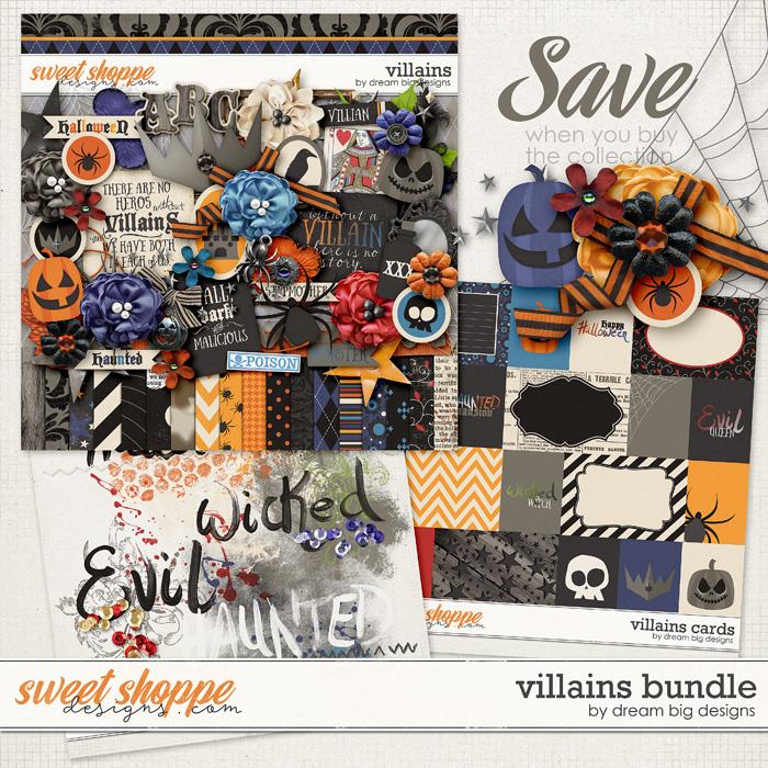 Villains Bundle by Dream Big Designs