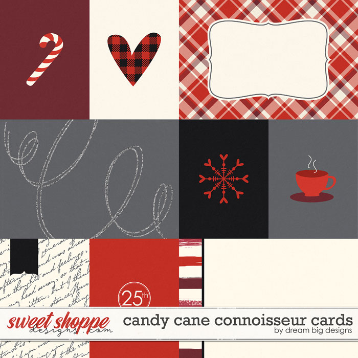 Candy Cane Connoisseur Cards by Dream Big Designs
