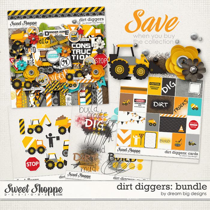Dirt Diggers: Bundle by Dream Big Designs