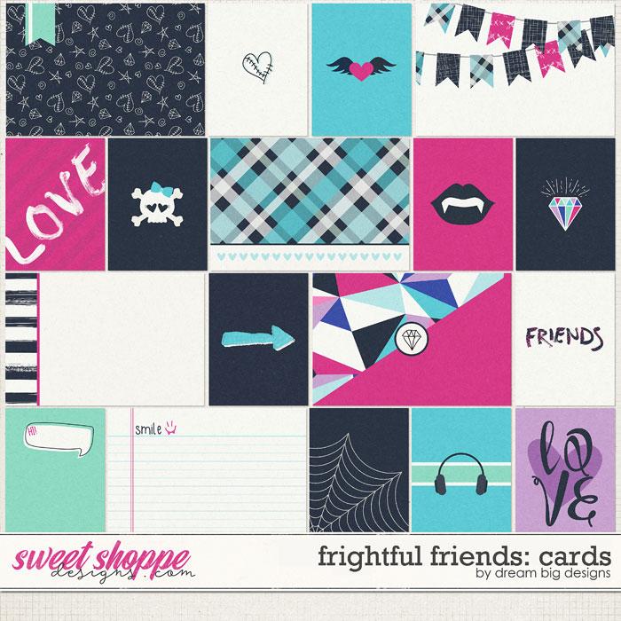 Frightful Friends: Cards by Dream Big Designs