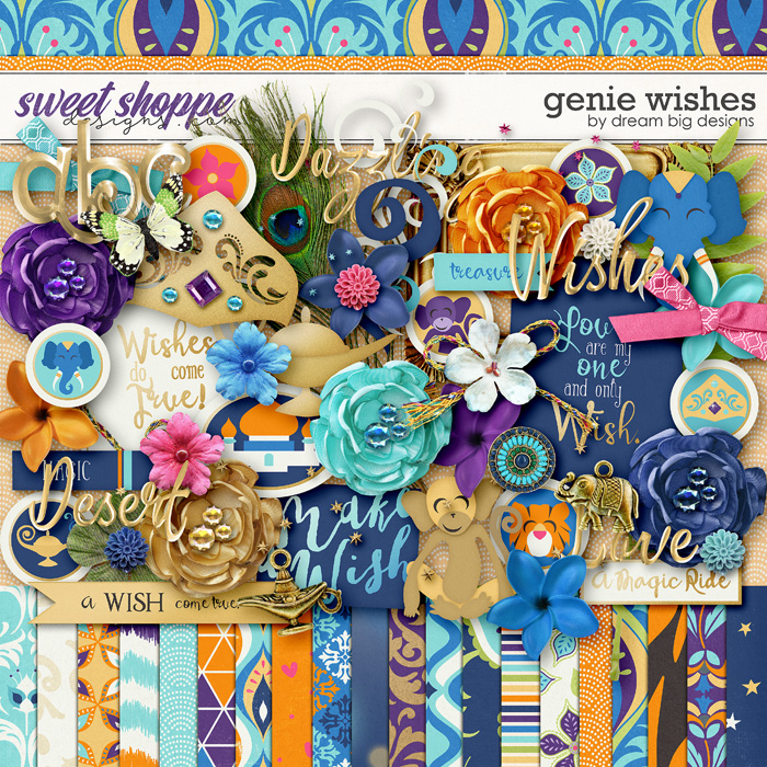 Genie Wishes by Dream Big Designs