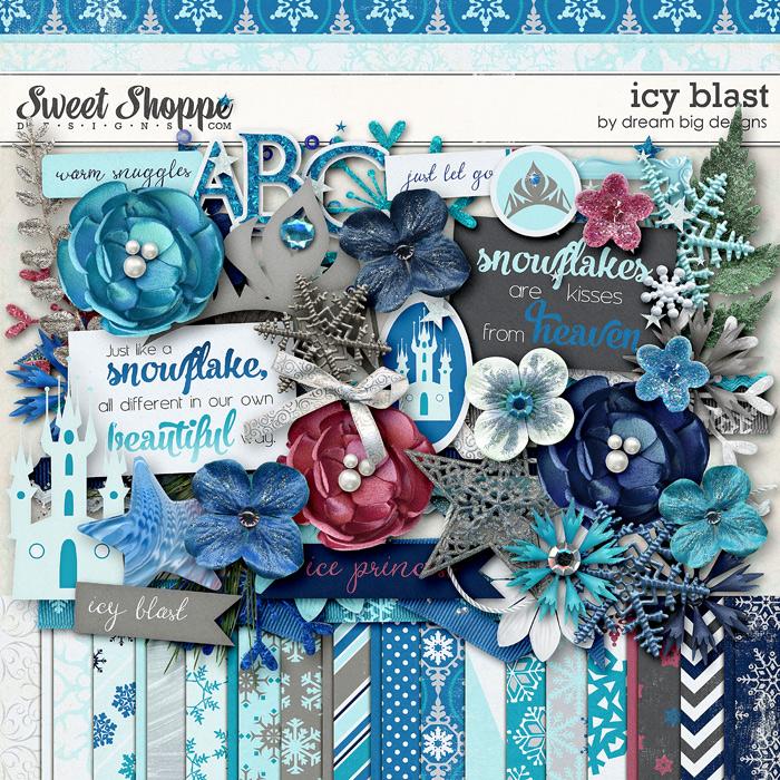 Icy Blast by Dream Big Designs