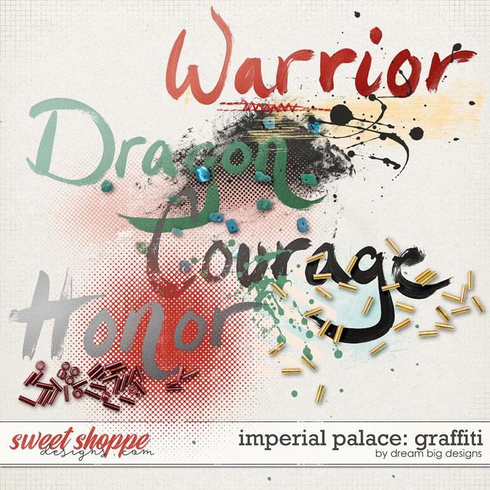 Imperial Palace: Graffiti by Dream Big Designs