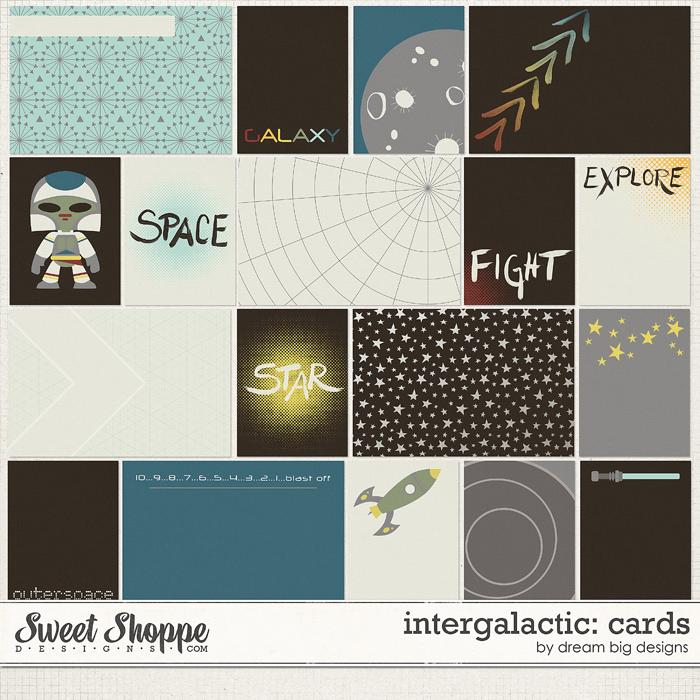 Intergalactic: Cards by Dream Big Designs