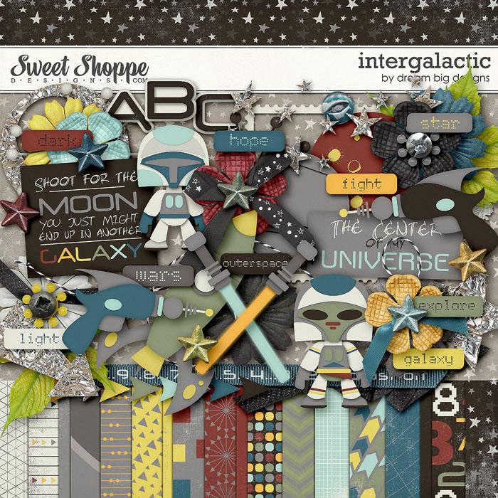 Intergalactic by Dream Big Designs