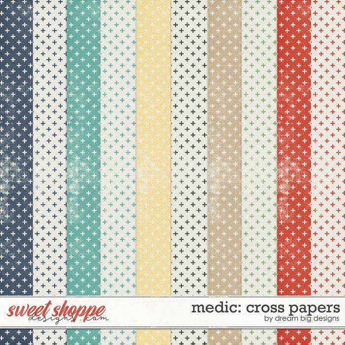 Medic: Cross Papers by Dream Big Designs
