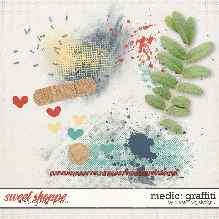 Medic: Graffiti by Dream Big Designs
