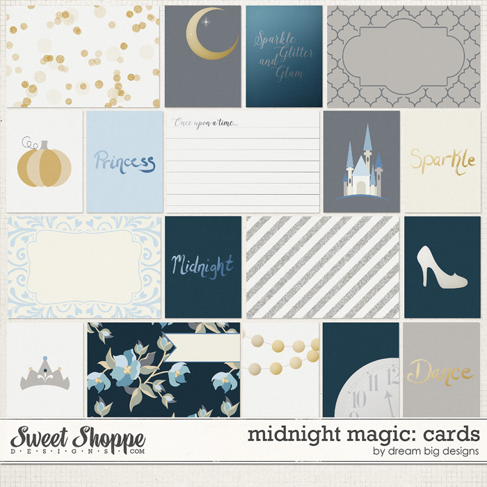 Midnight Magic: Cards by Dream Big Designs