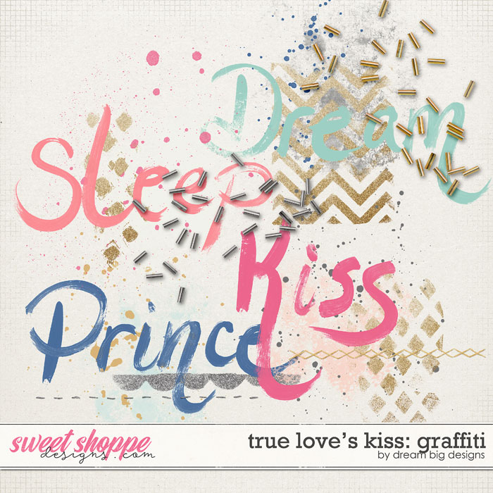 True Love's Kiss: Graffiti by Dream Big Designs