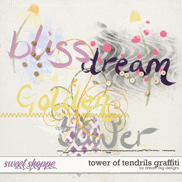 Tower of Tendrils Graffiti by Dream Big Designs