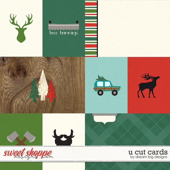 U Cut Cards by Dream Big Designs