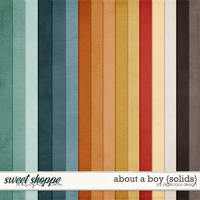 About A Boy {Solids} by Digilicious Design