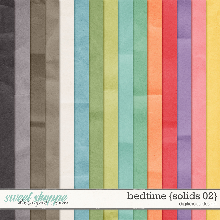 Bedtime {Solids 02} by Digilicious Design